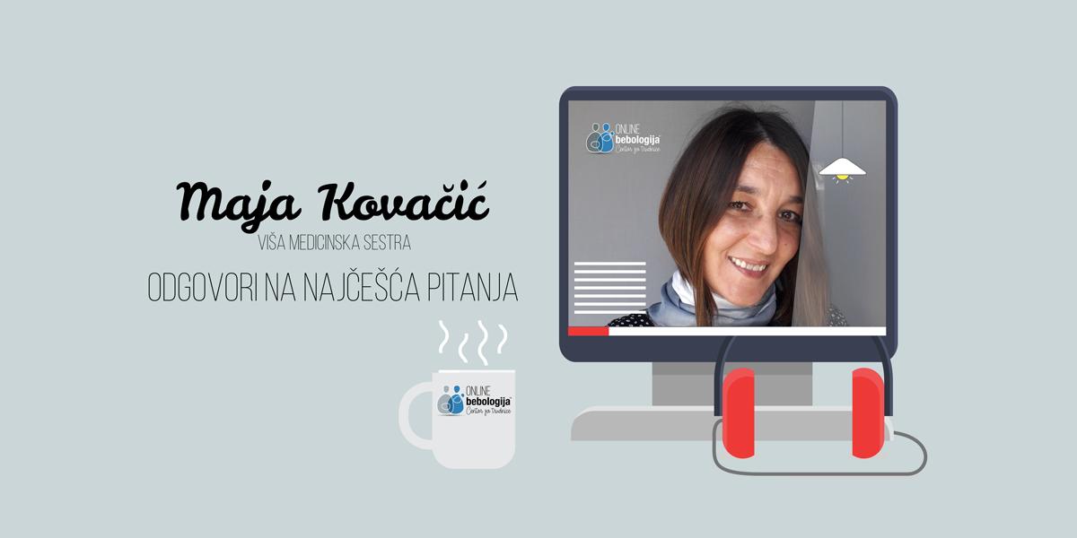 Vms Maja Kovačić – Odgovori na pitanja o izazovima tokom dojenja