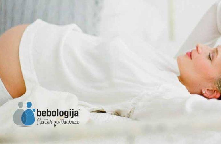 Uputstvo za dobro spavanje tokom trudnoće