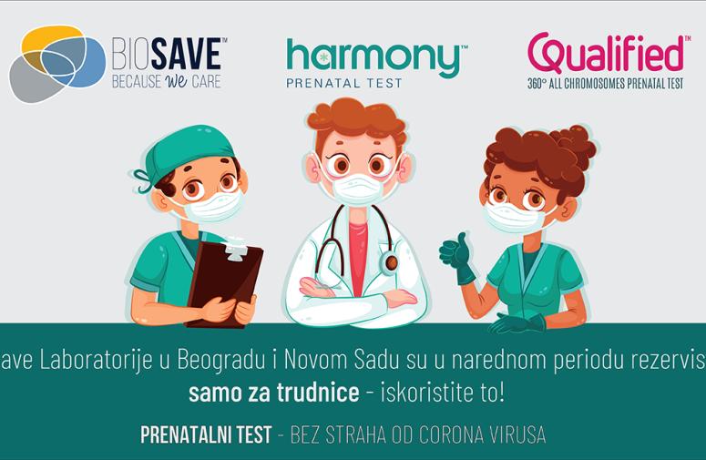 Dobra vest, bezbedno uradite prenatalni test!