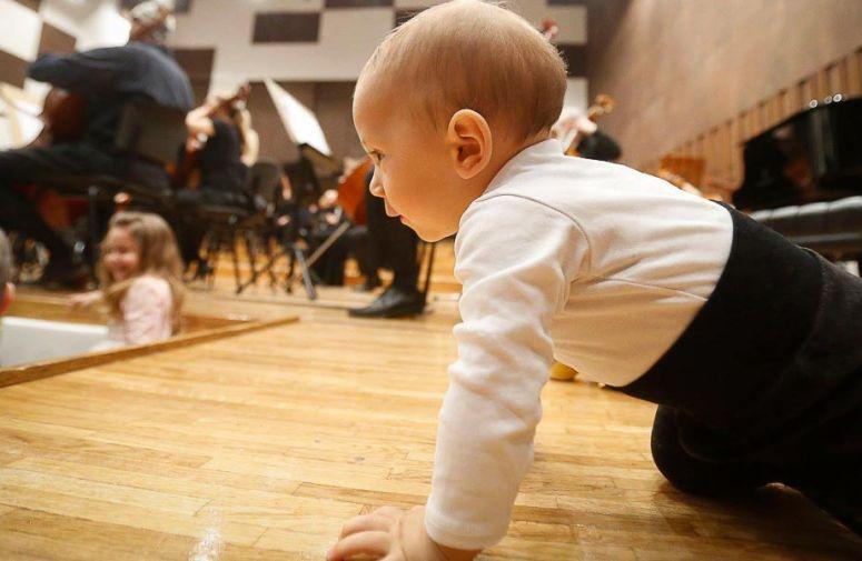 Da li vaša beba voli klasičnu muziku