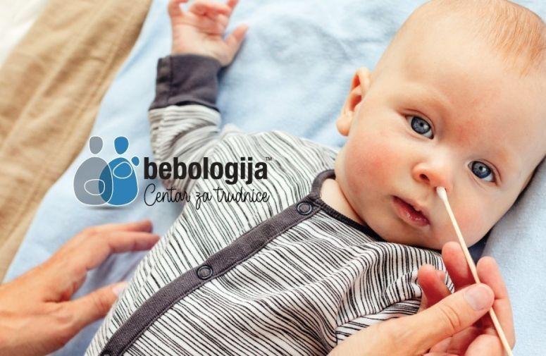 Kako otpušiti bebin zapušen nosić?