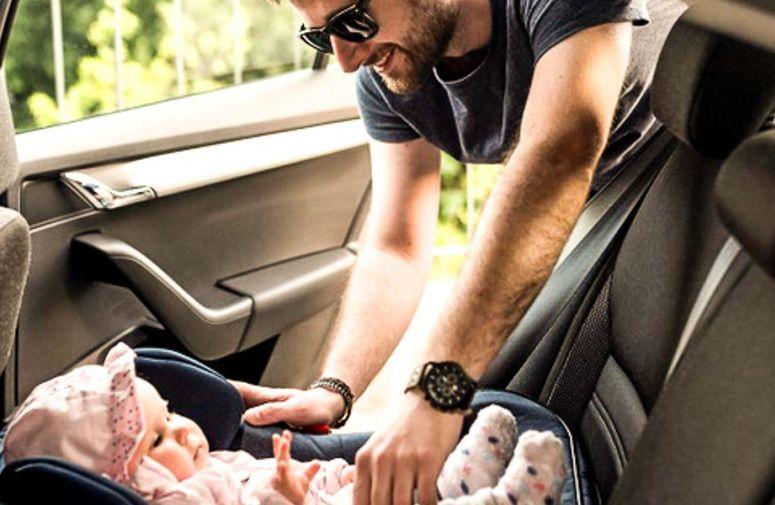 Beba na prednjem sedištu - da ili ne?