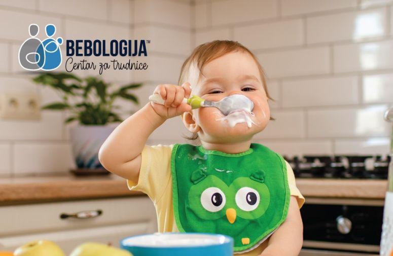 Deca koja žvaću hranu brže progovaraju