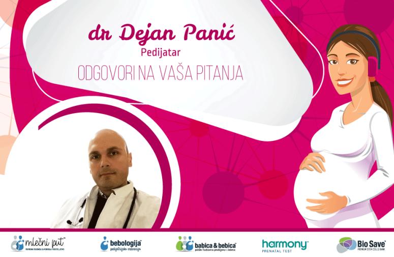 Odgovori na pitanja: Pedijatar dr Dejan Panić