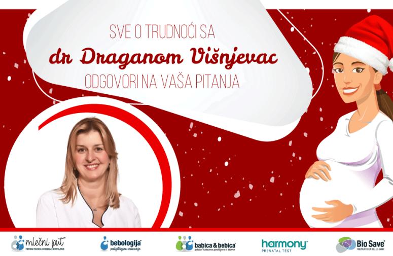 ODGOVORI NA PITANJA: Sve o trudnoći sa dr Draganom Višnjevac