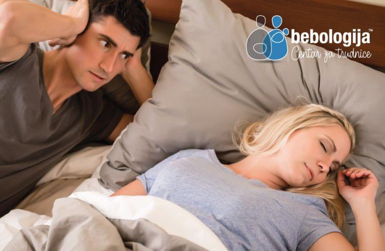 Zašto trudnice imaju problem sa hrkanjem?