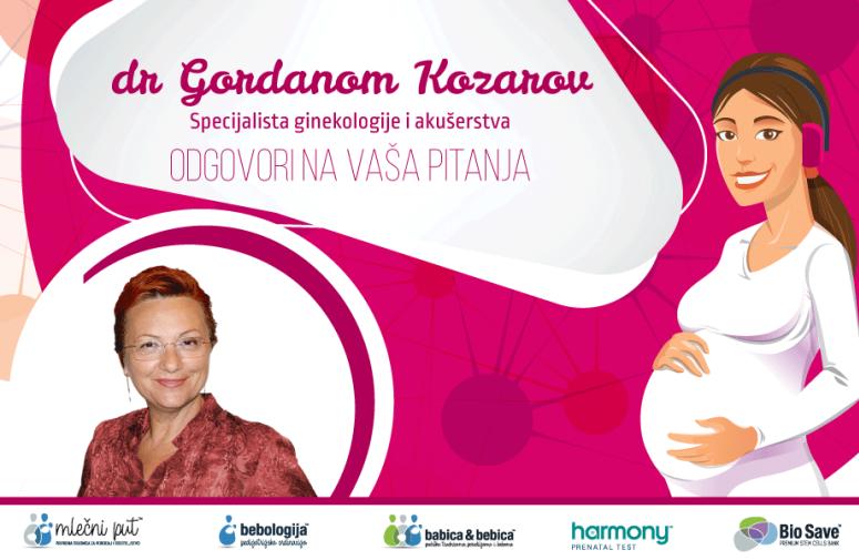 Odgovori na pitanja: Sve o trudnoći sa dr Gordanom Kozarov