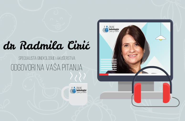 Dr Radmila Ćirić - Odgovori na pitanja o praćenju trudnoće u doba virusa korona