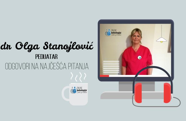 Dr Olga Stanojlović - Odgovori na pitanja o prvim koracima ka uspešnom dojenju