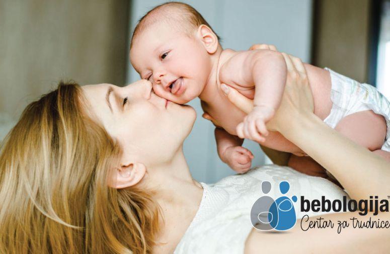 Šta se dešava u bebinoj glavi kad je poljubite (FOTO)
