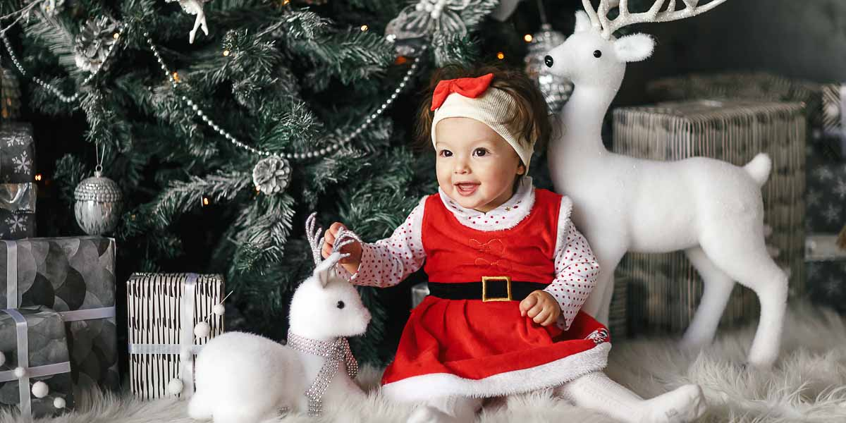 Ideje za fotografisanje beba u prazničnom raspoloženju