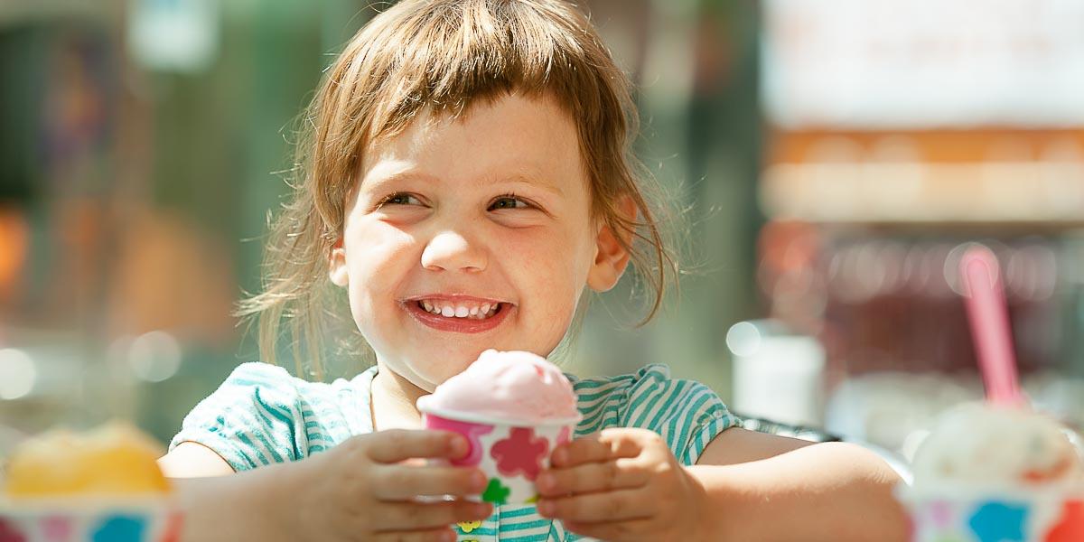 Smeju li bebe da jedu sladoled?