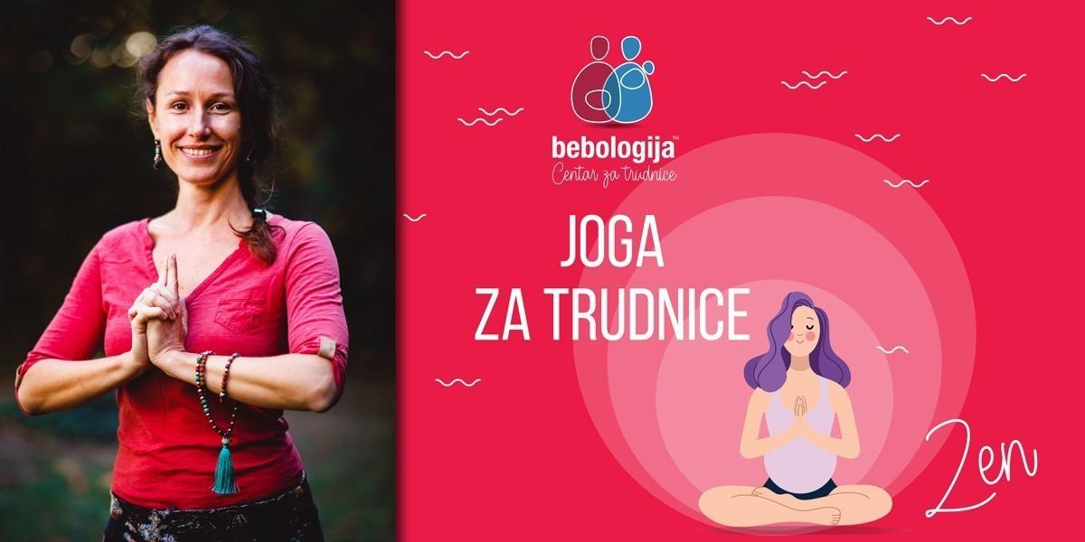 Reč, dve o jogi za trudnice