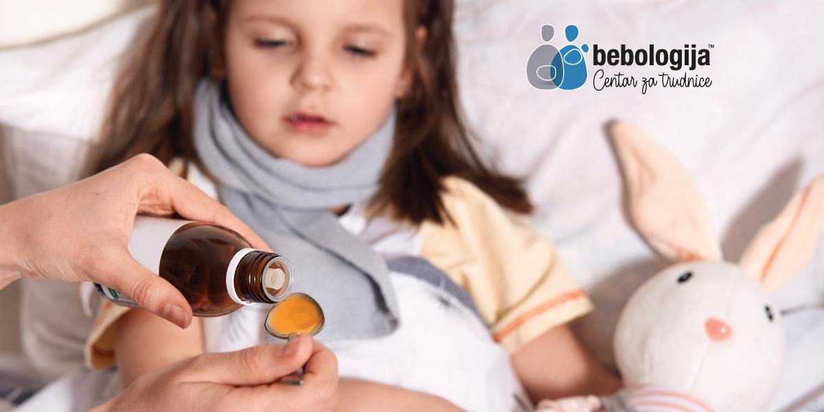 Kako se boriti protiv upornog kašlja kod dece