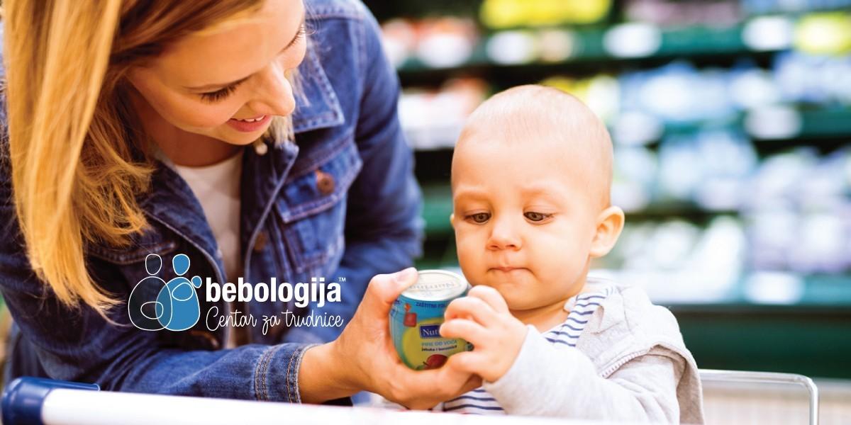 Šta treba znati o oznakama na deklaracijama hrane za bebe?