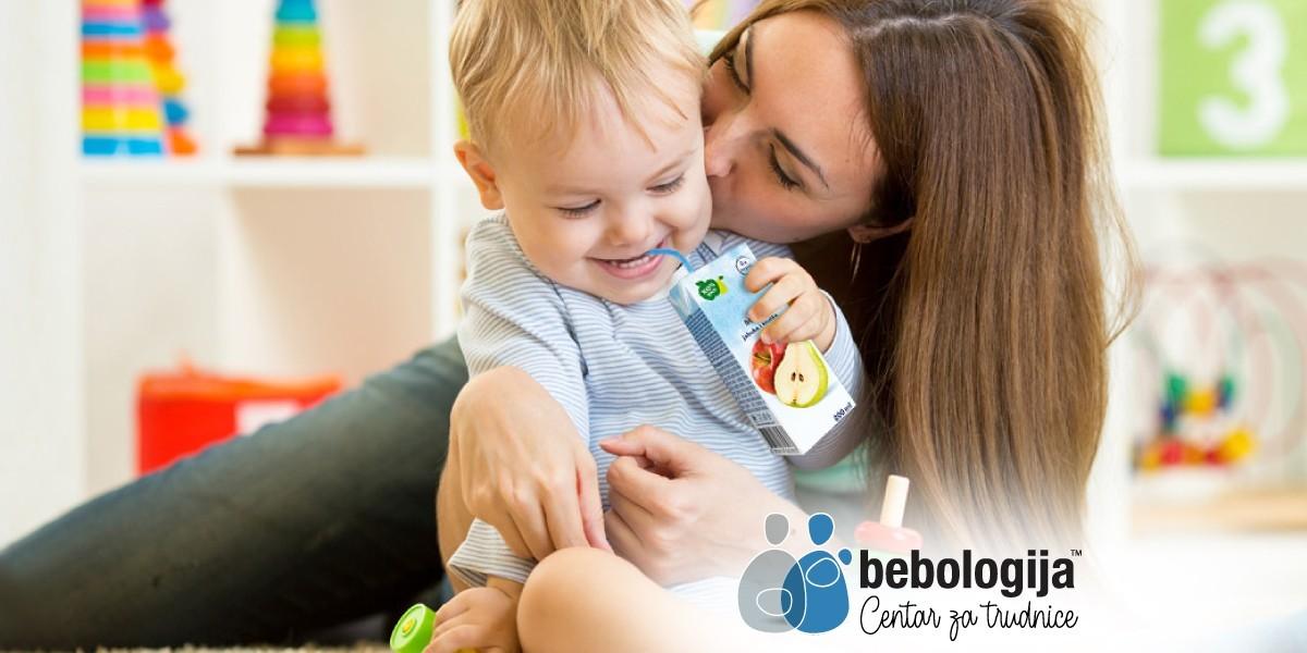 Da li se preporučuje davanje sokića bebama?