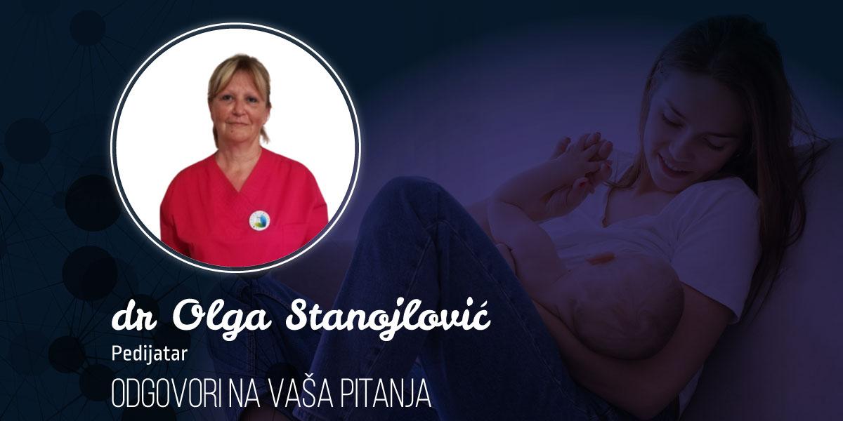 Dr Olga Stanojlović: Odgovori na najčešća pitanja o dojenju
