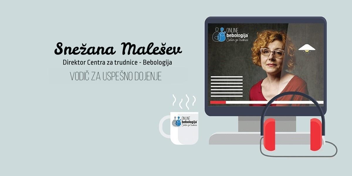 Snežana Malešev: Odgovori na pitanja o dojenju
