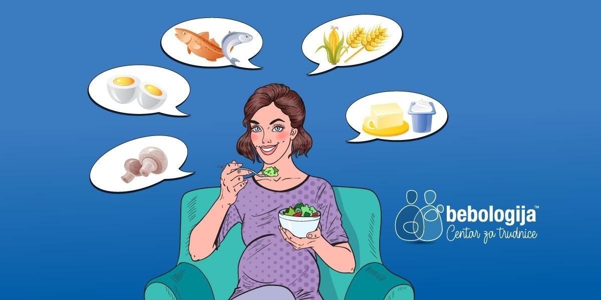 Ishrana trudnica: Namirnice bogate vitaminom D