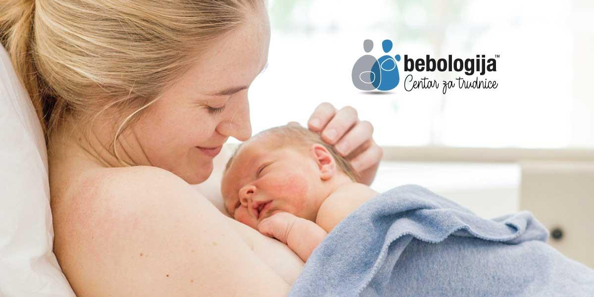 Zašto je važan prvi zagrljaj majke i bebe